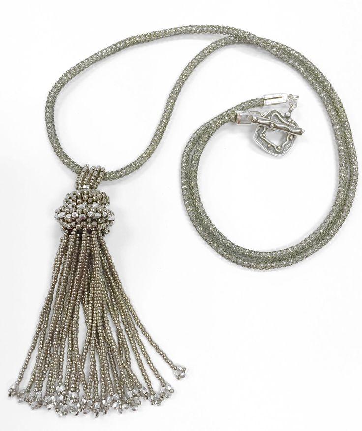 Jewel School Kit Project:Tassel Necklace