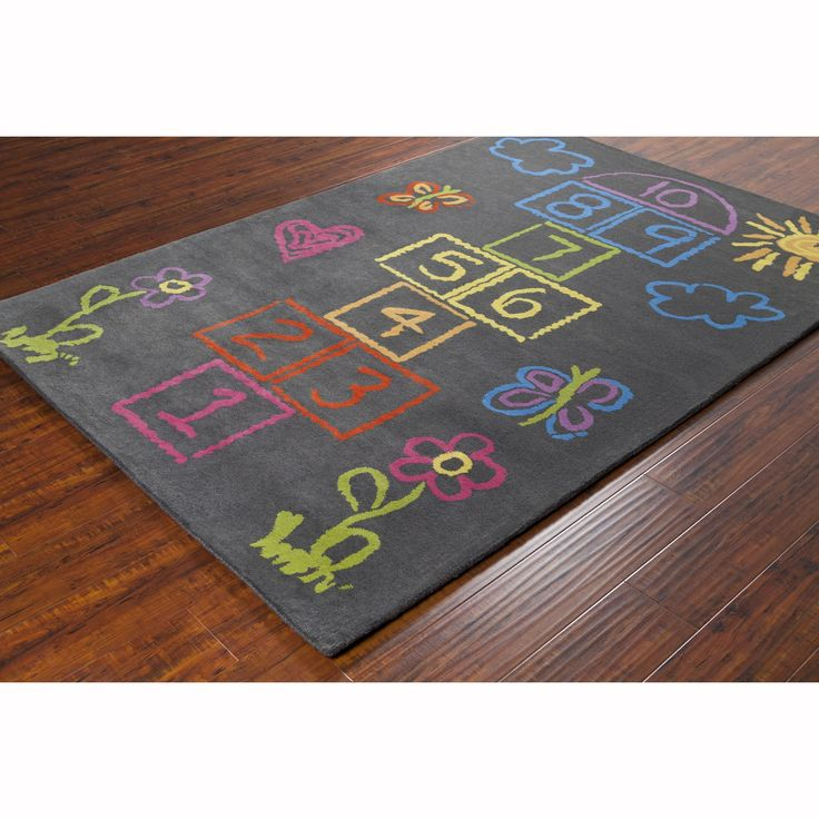 Artist's Loom Hand-tufted Contemporary Kids Rug