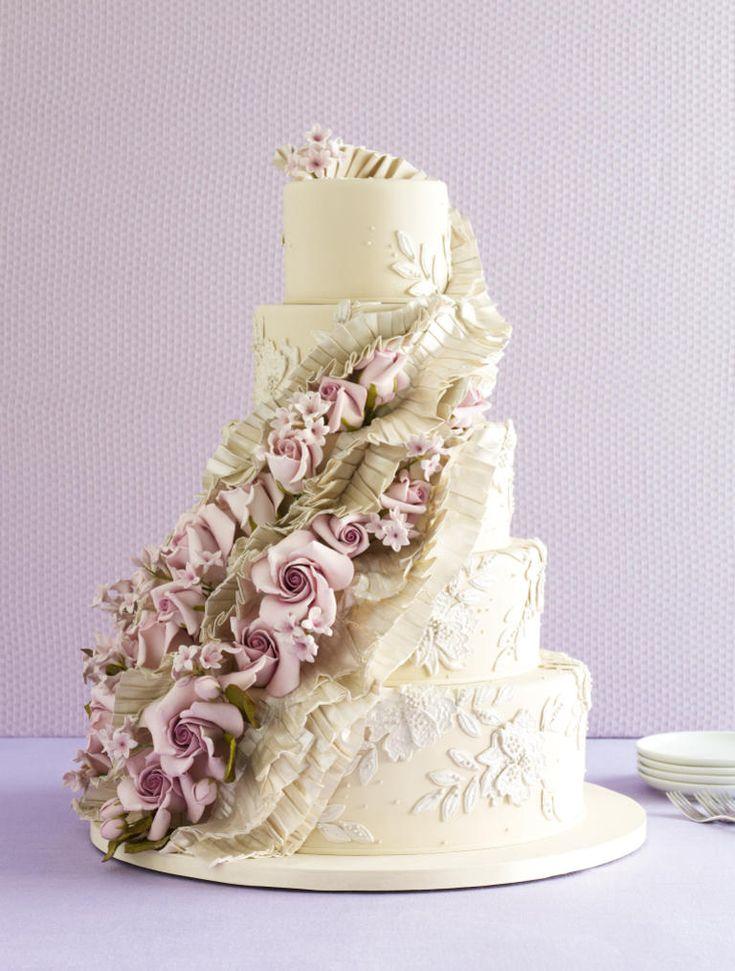 4289 best wedding cakes images on pinterest cake wedding for Amazing wedding cake decoration game