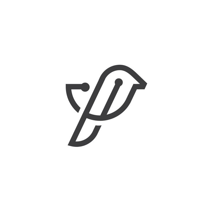 #vector #logo #logotype #clean #mark #sign #web #it #tech #website #minimal #brand #branding #corporate #identity #logoinspiration #smart #bird #office #logoexcellent #worker #network #people #connect #chip #fly #wing #logoinspire