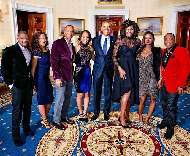 Welcome to the White House  - The Real Candy Girls! The New Edition Fellas and Their Beautiful Wives