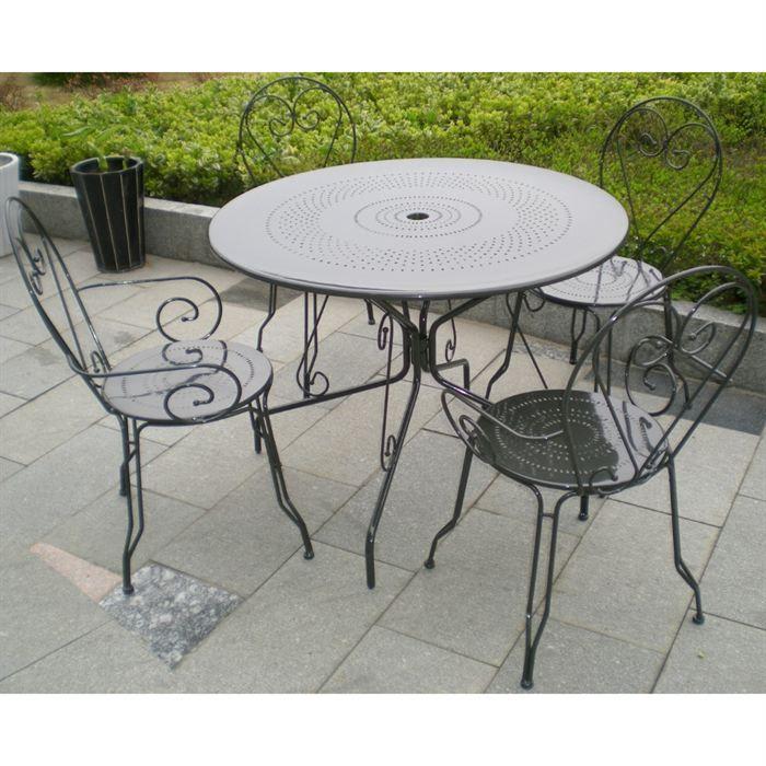 Table Jardin Acier