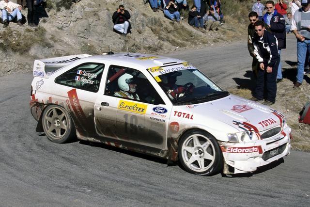 F. Delecour - Ford Escort WRC (Montecarlo 99)