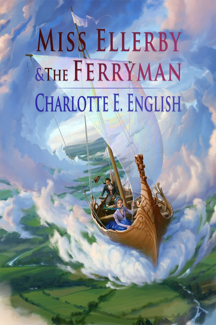 Cover for Aylfenhame #2, Miss Ellerby and the Ferryman, by Elsa Kroese
