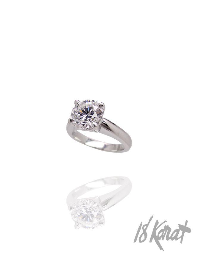 Jacqueline's Engagement Ring | 18Karat