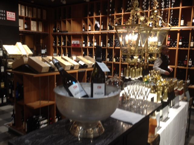 Champagne tasting at Globus Lausanne - Champagne Jacquesson Cuvée N° 738