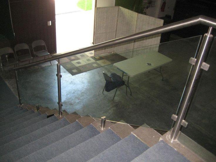 17 best ideas about pasamanos en acero inoxidable on - Pasamanos de cristal para escaleras ...