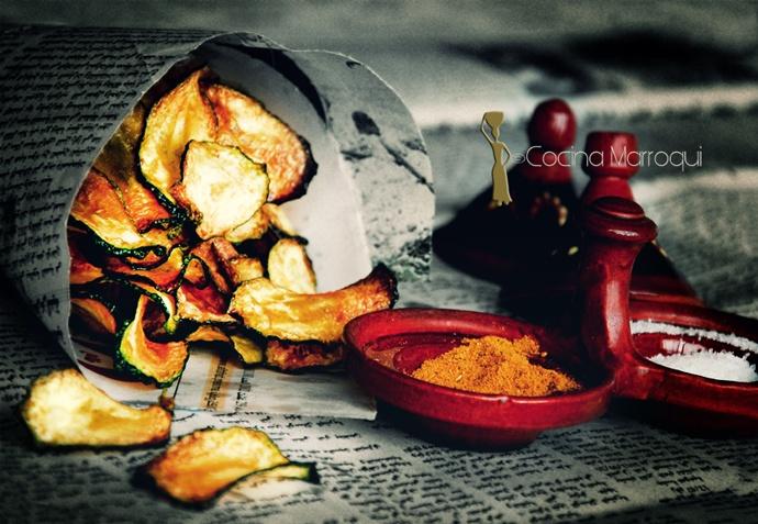Nueva Cocina Marroqui: Chips de ar kûsâ