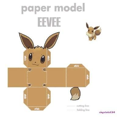 Image result for pokemon papercraft