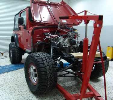 Jk Auto Repair >> The Novak Guide to Installing Chevrolet & GM Engines into the Jeep TJ & LJ Wranglers | Jeep tj ...