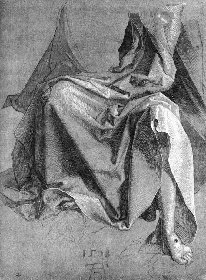 Study of a Drapery by Albrecht Durer