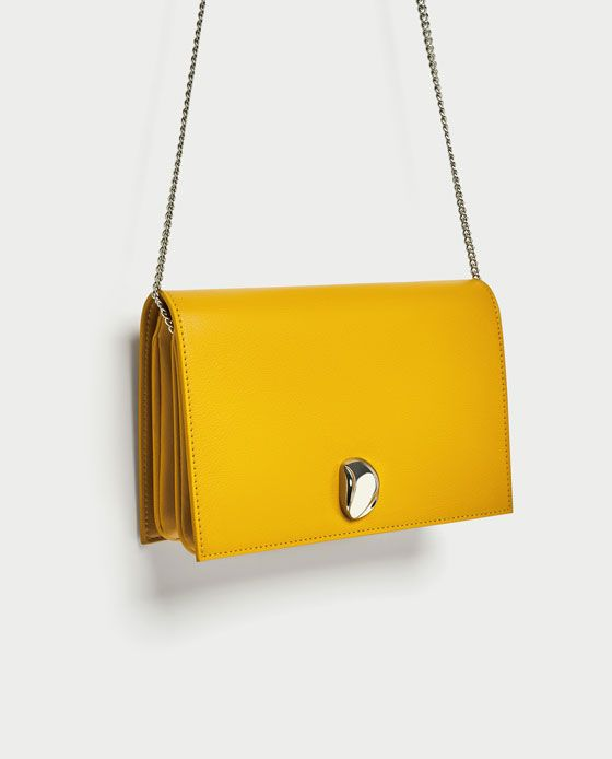 Image 1 of CROSSBODY BAG WITH METAL DETAIL from Zara