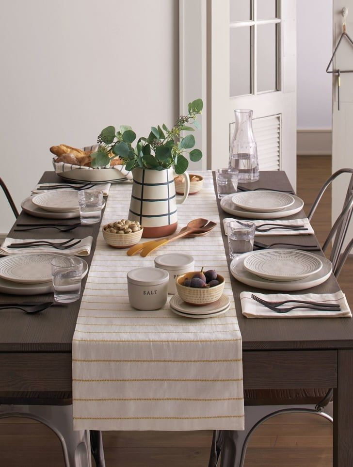 Everything You Need From Chip And Joanna S Spring Collection For Target All Under 50 Dinner Table Decor Farmhouse Table Setting Table Setting Decor