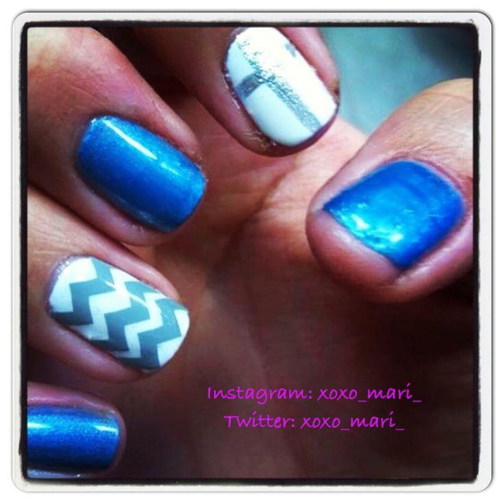 nail design ideas with shellac nail art