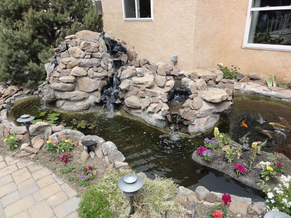 how to fix a leaking pond