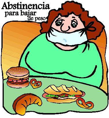 abstinencia para bajar de peso