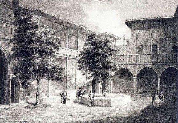 Το Αρχοντικό του πρόξενου Νικ. Λογοθέτη, χτίστηκε τον 17ο αιώνα επί Τουρκοκρατίας. Βρίσκεται στο Μοναστηράκι, στην oδό Άρεως 14. Μια καμάρα της πύλης του αρχοντικού, μια βρύση, ένα λίθινο εξωτερικό κλιμακοστάσιο και μια αυλή,  με μεταγενέστερα κτίσματα, είναι ότι απέμεινε σήμερα από αυτό  το αρχοντικό. Μέσα στην αυλή της παλιάς οικίας  βρίσκεται και το εκκλησάκι του Αγίου Ελισσαίου, που ανήκε στην οικογένεια. Εδώ ο Έλγιν αποθήκευσε τα κλεμμένα γλυπτά του Παρθενώνα πριν τα μεταφέρει στην…