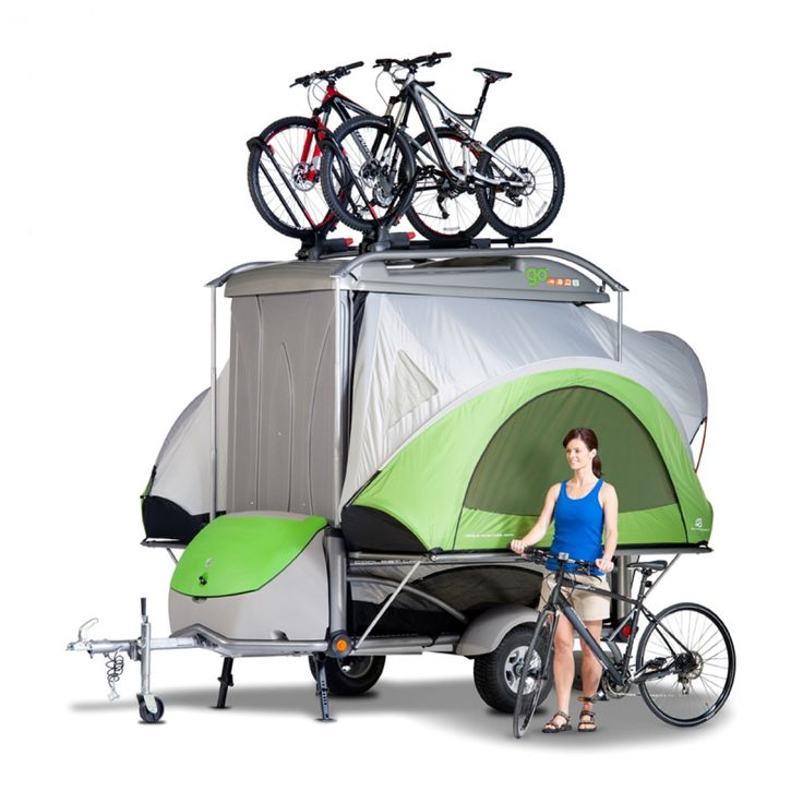 Adventure Camping Gear Trailer