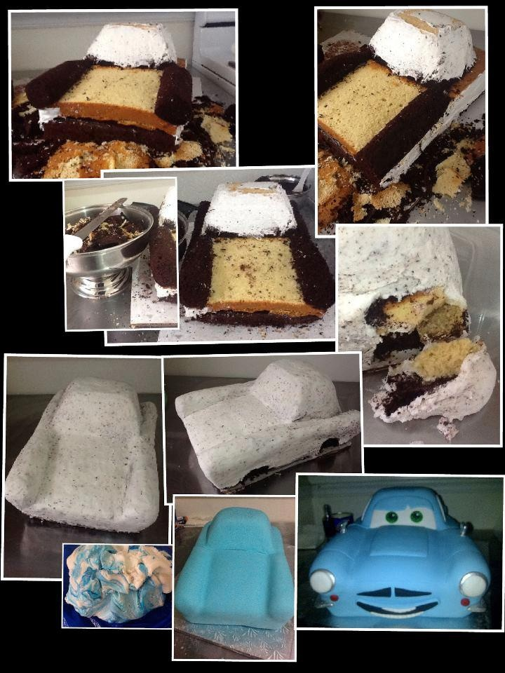 The making of Finn McMissile #Cake