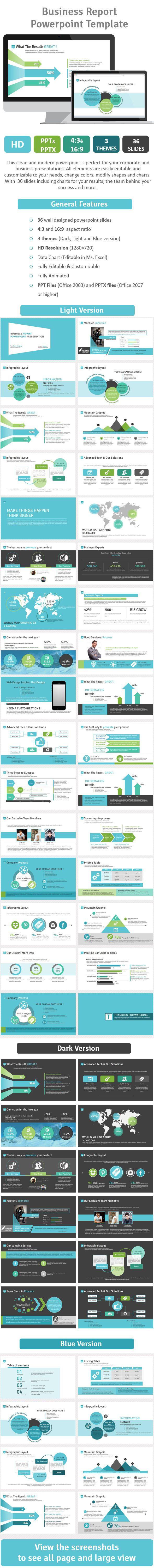 The 25 best ms power point presentation ideas on pinterest business report powerpoint template vol2 toneelgroepblik Gallery