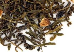 Tee Gschwendner - Nr. 954 - Moon Palace® - Spritziger Zitrusgeschmack und süße Vanille treffen köstlich aufeinander.  Zutaten: Grüne Tees ausChina und Südindien, Aroma, Zitronenschalen, Vanillestückchen.