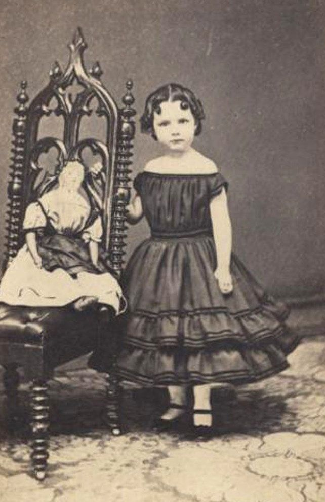 early victorian girl
