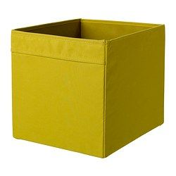 DRÖNA Box - yellow - IKEA