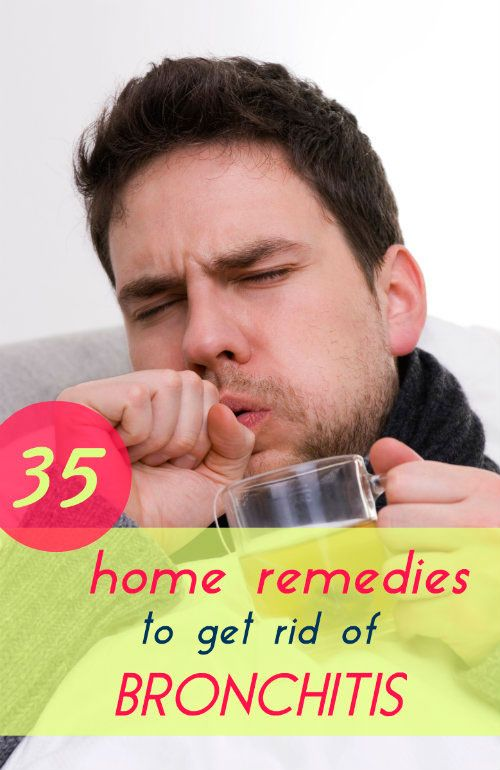 Home remedies are actually your best bet when it comes to treating bronchitis.