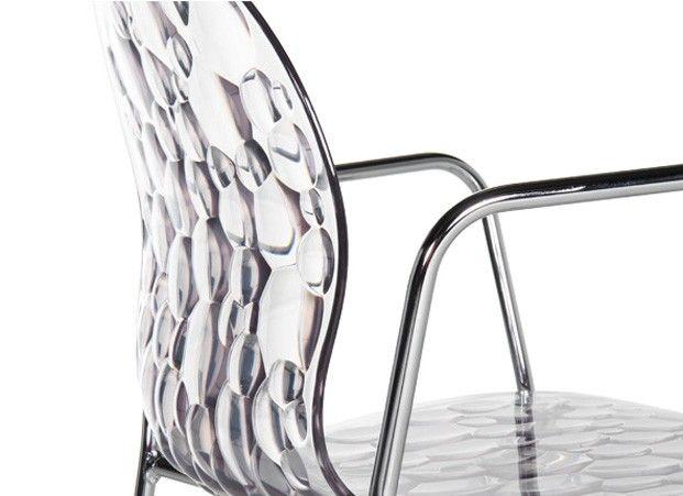 AQUA B chaise accoudoir transparente 120€