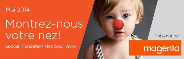 MAI 2014 - Montrez-nous fièrement vos enfants ou même toute votre famille portant un nez rouge (authentique nez de clown ou habile trucage!), symbole d...