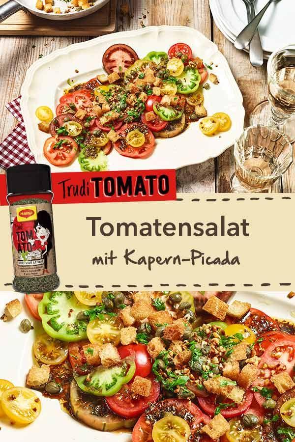 In Allen Formen Und Farben Unser Rezept Fur Tomatensalat Mit