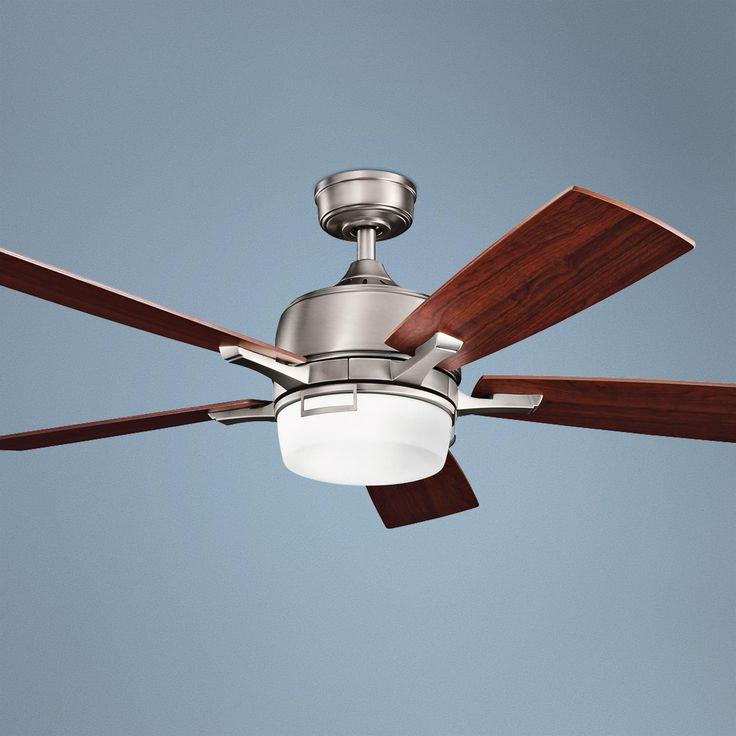 "52"" Kichler Leeds Pewter ENERGY STAR® Ceiling Fan"