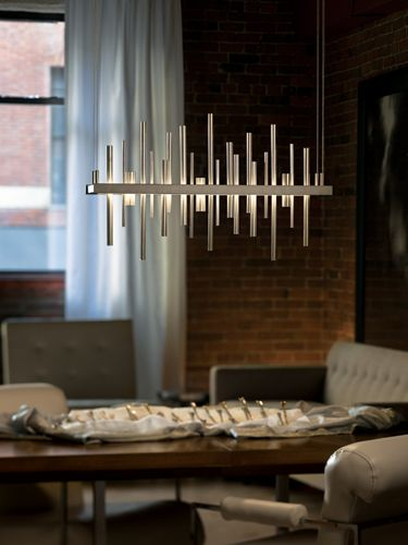 Additional view of cityscape pendant light