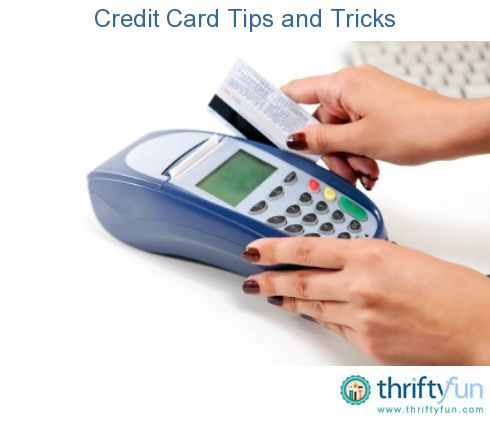credit cards important information