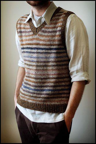 Striped Vest by brooklyntweed, via Flickr