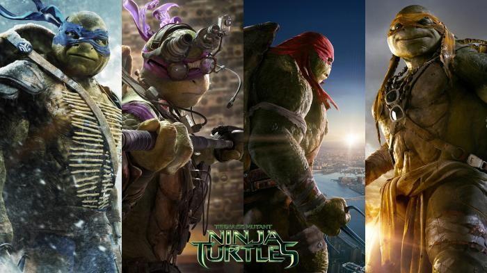 Film Teenage Mutant Ninja Turtles - Sekelompok Kura-kura Tumpas Kejahatan Di…