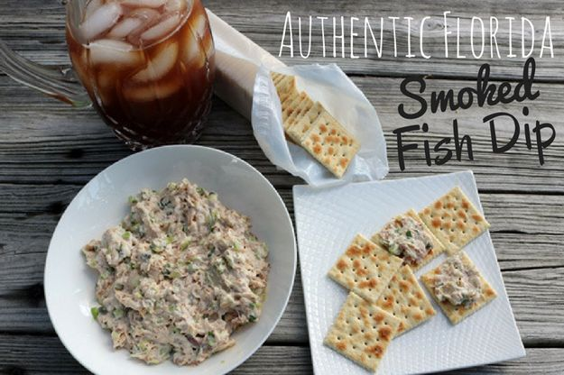 Florida's smoked fish dip is typically made from amberjack, mahi-mahi, cobia, Spanish mackerel, kingfish (and more) but for the quintessential taste of old Florida smoked mullet dip is the favorite.