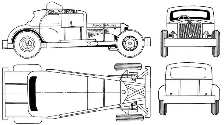 35 best blueprints images on pinterest vintage cars vintage blueprints cars various cars rocket stock car malvernweather Images