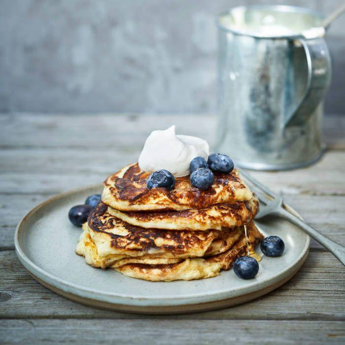 Amerikanska Pannkakor Glutenfritt Recept Recept I 2020 Mat