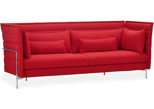 simple and smart design by Ronan & Erwan Bouroullec: Alcove Sofa (Vitra)