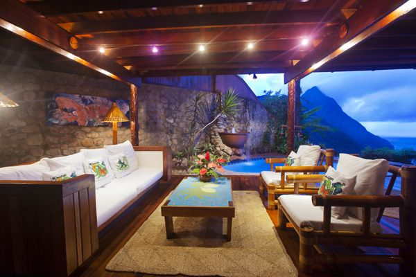 Ladera - hotel in St. Lucia (personally recommended by a friend)