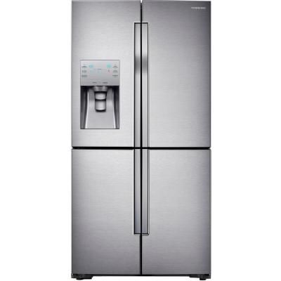 Samsung 22 5 Cu Ft 4 Door French Refrigerator In Stainless Steel