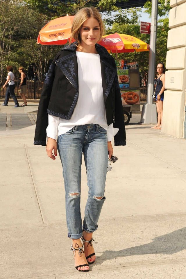 These stylish celebrities show us how denim is done. Click through to check out all the must-see looks.
