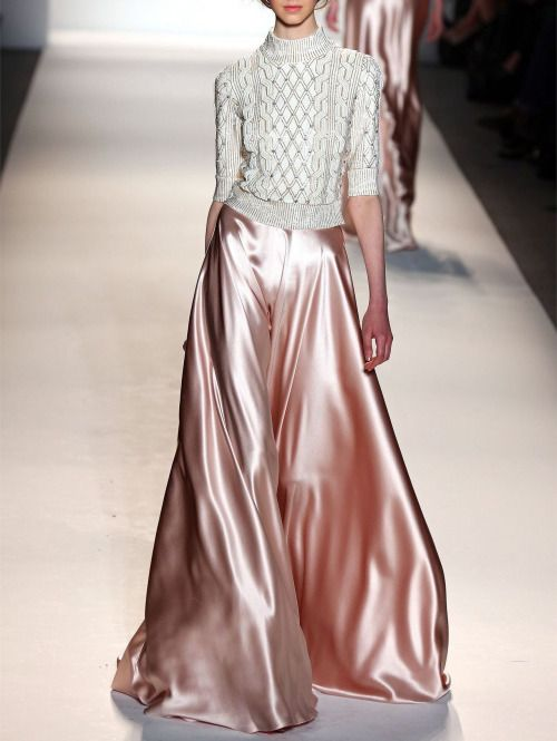 skaodi: Jenny Packham Fall/Winter 2013. Luxe comfort is our fashion JAM.