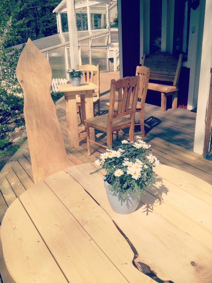hantverk möbler från återvunnet trä / handicraft furniture made by recycled wood