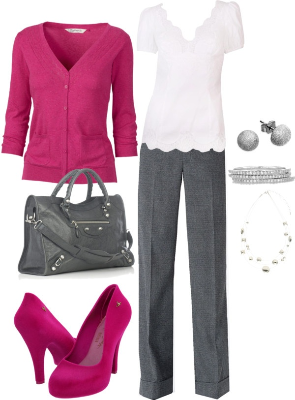 """Pretty in Pink"" by lindsey-ellis on Polyvore"