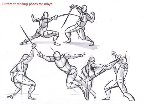 poses dibujo para principiantes - Buscar con Google