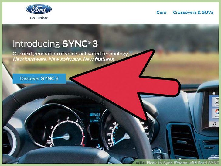 Image titled Sync iPhone with Ford SYNC Step 1