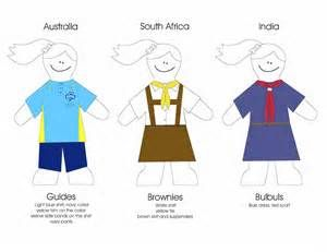 girl scout brownie paper dolls - Bing Images