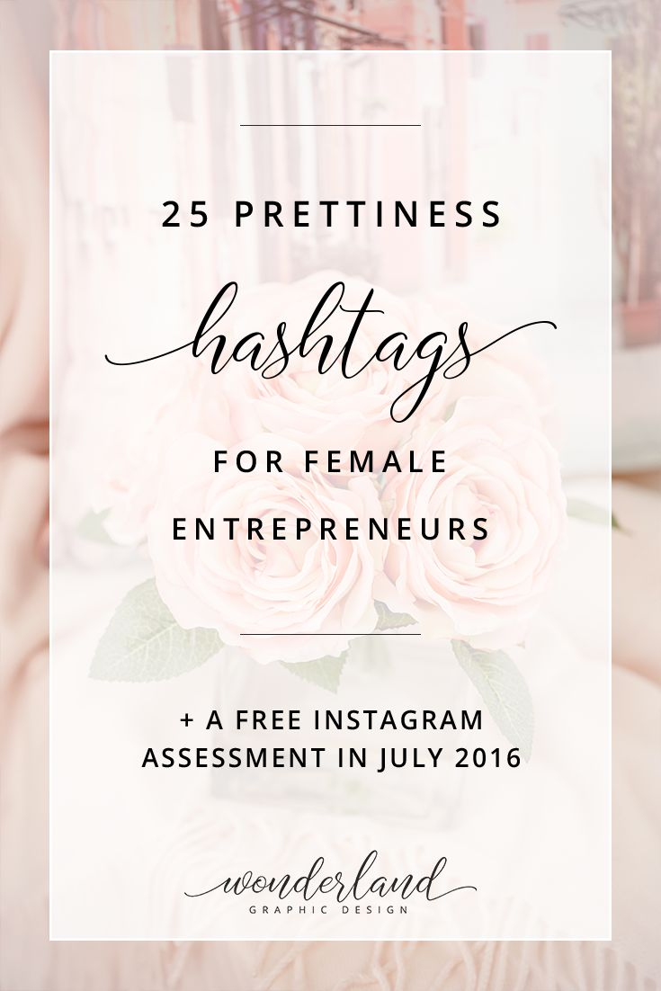 Hashtags are a great way for female entrepreneurs, bloggers and creatives to get more followers on Instagram and increase clients and improve sales. Get a free list of 25 more obscure hashtags on the pretty picture theme for social media. Plus get a free Instagram assessment. Perfect for wedding businesses looking for bridal inspo.